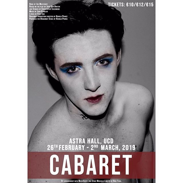 •CABARET•  Proudly presenting our 10th Session Semester 2 Show in Astra Hall, 26th February - 2nd March.  Tickets on sale in the coming days!