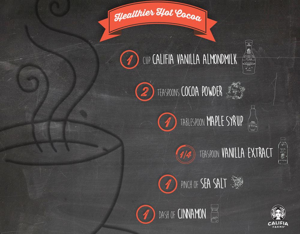Image: Califia Farms -Healthier Hot Cocoa recipe