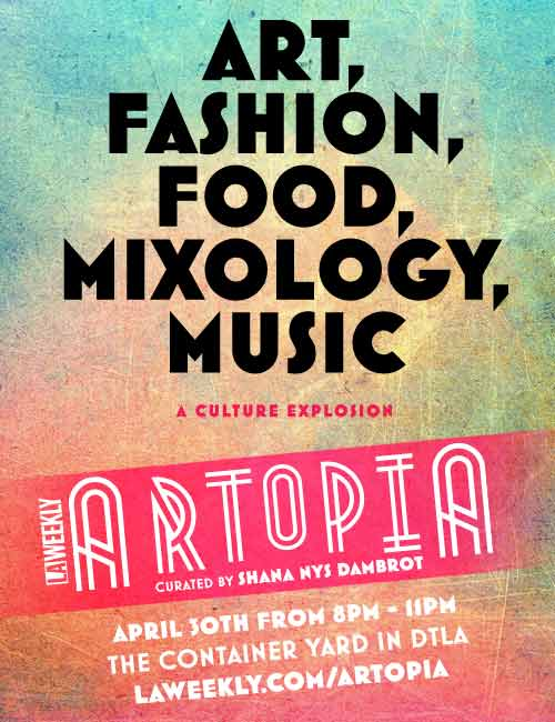 Image: Califia Farms - Artopia 2015 - Art, Fashion, Food, Mixology, Music
