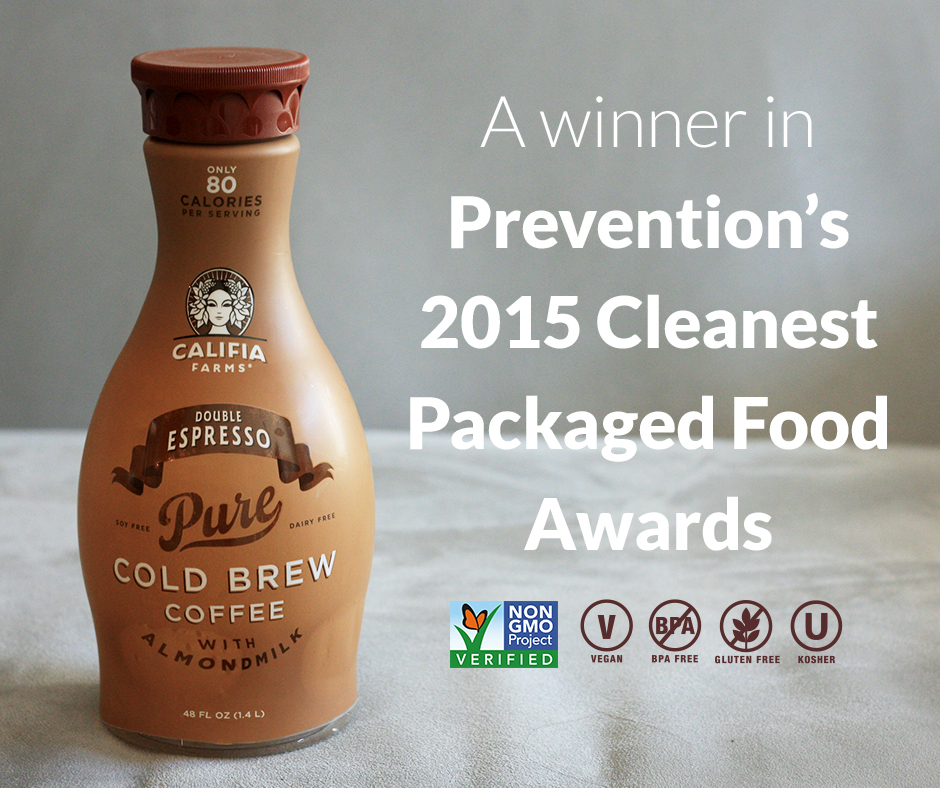 Califia Farms Double Espresso Cold Brew Coffee