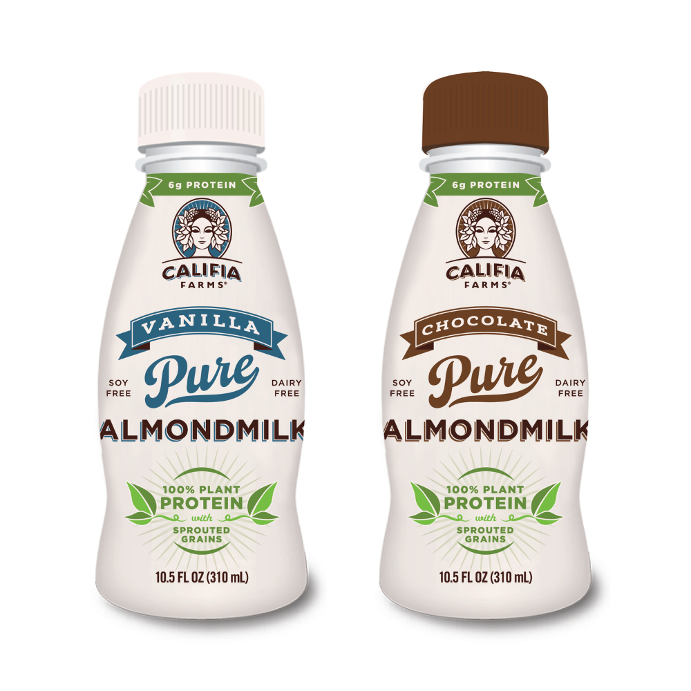 Califia Farms Vegan Protein Almondmilk drinks