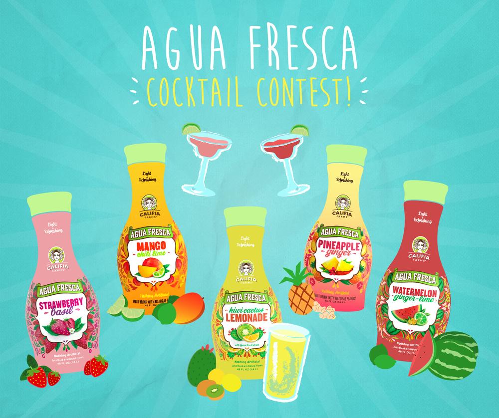 Image: Califia Farms -Agua Fresca Cocktail Contest