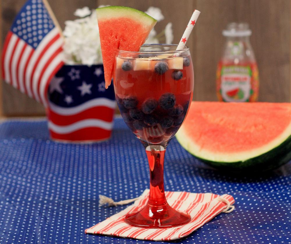 Image: Califia Farms -Easy Patriotic Punch