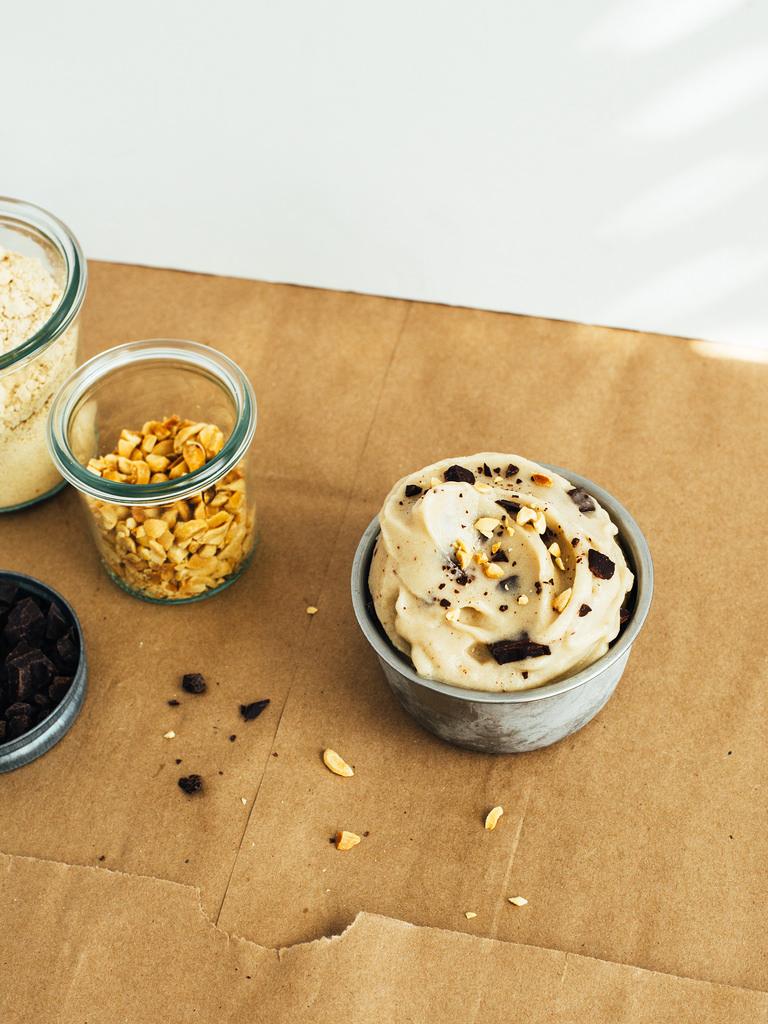 Image: Califia Farms -Chocolate Chunk Peanut Butter Soft Serve