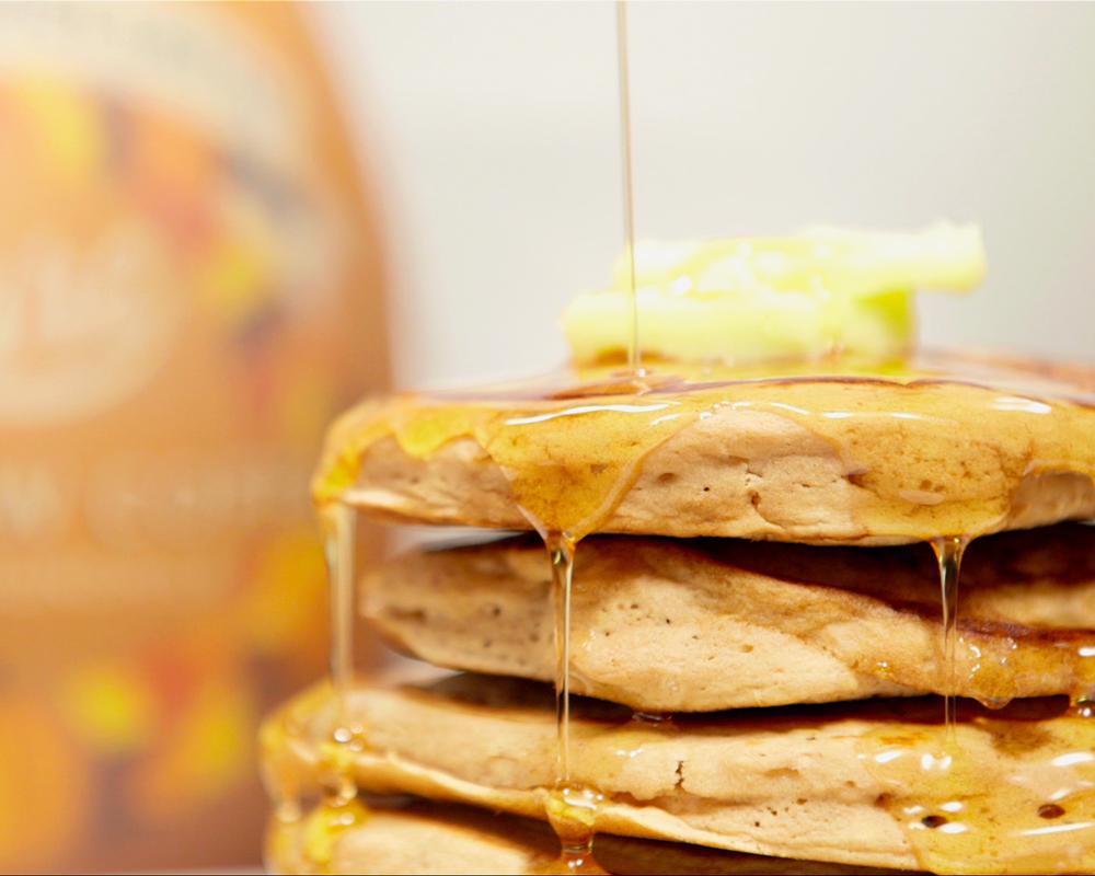Image: Califia Farms -Pumpkin Spice Latte Pancakes