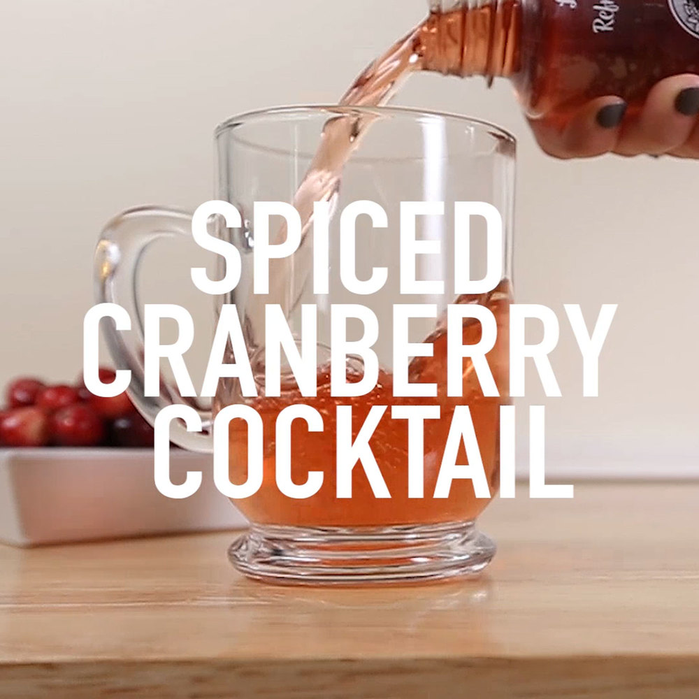 Image: Califia Farms - Double Spiced Cranberry Cocktail