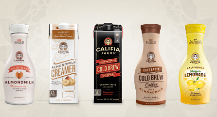 Image: Califia Farms - All products