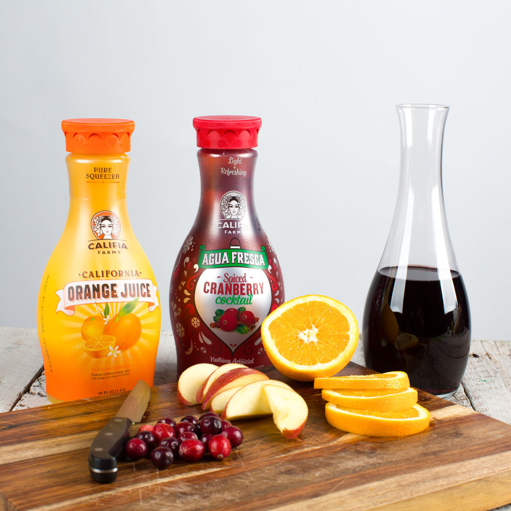 Image: Califia Farms - Sweet & Spicy Sangria Recipe