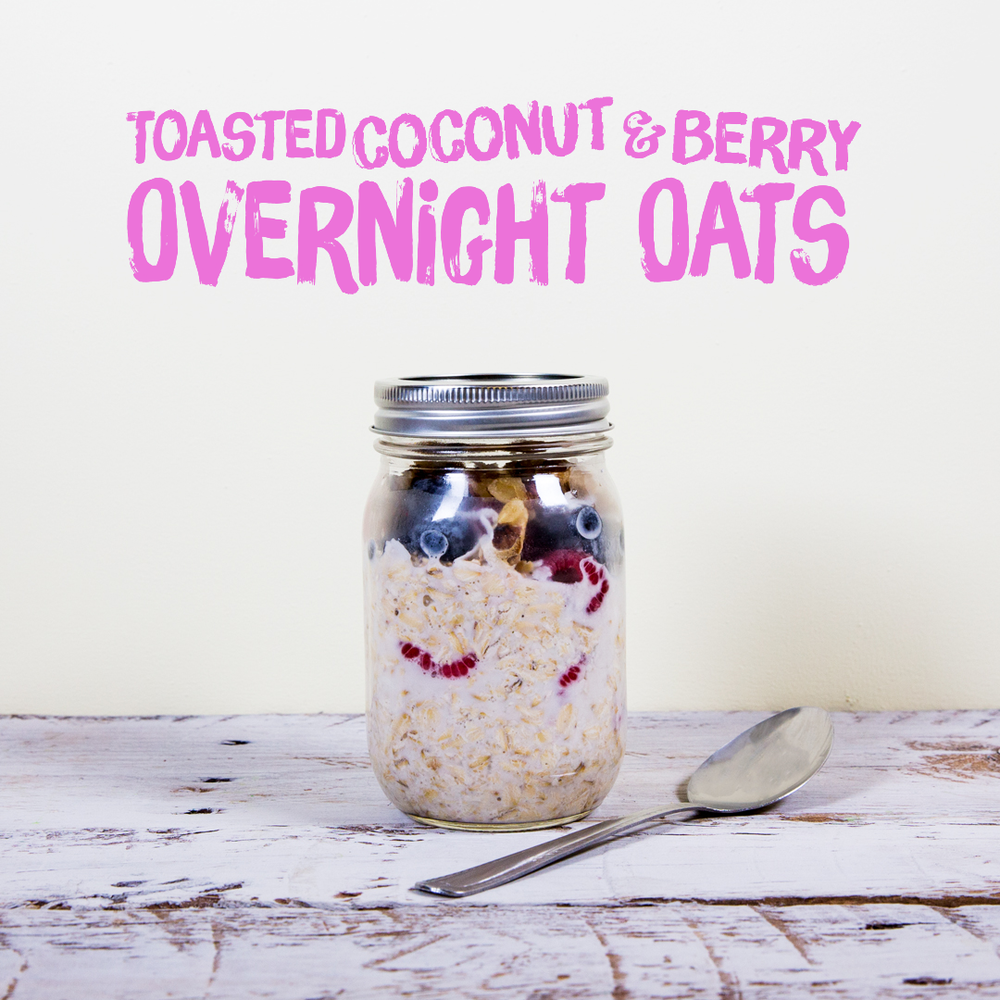 Image: Califia Farms - Toasted Coconut & Berry Overnight Oats