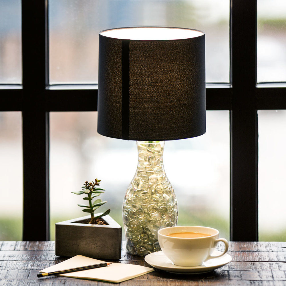 Image: Califia Farms - DIY Califia Table Lamp