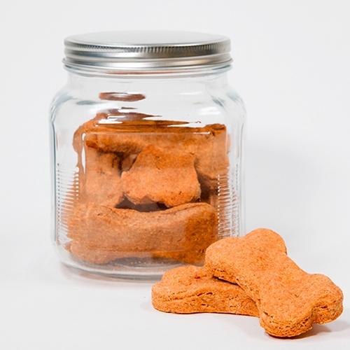 Homemade Peanut Butter + Almondmilk Dog Treats