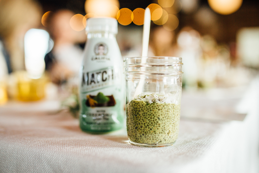 Brunch With Califia Matcha Chia Pudding