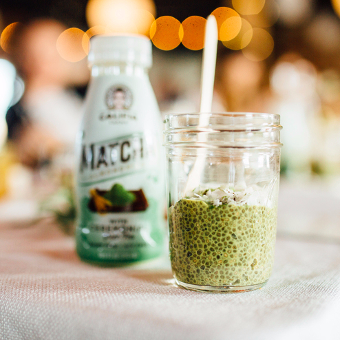 Matcha Chia Pudding You'll Eat on Repeat