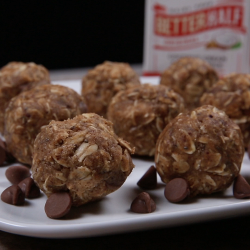 No-Bake Protein Balls for Anytime, Anywhere
