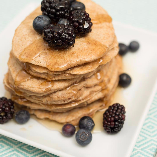 You'll Flip for These Almondmilk Pancakes