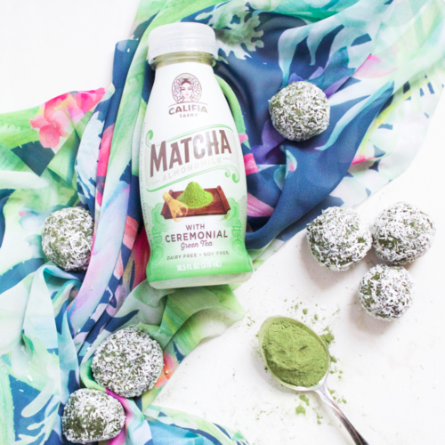 Chickpea in the City's Matcha Coconut Cake Balls