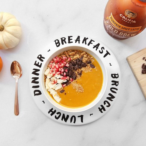 Superfood Pumpkin Smoothie Bowl