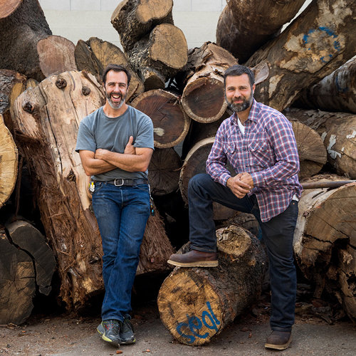 In Honor of Arbor Day: Meet Two Men Who Upcycle Fallen Trees