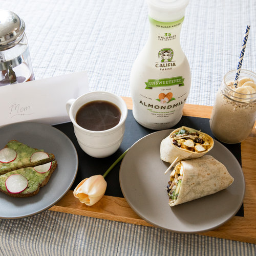 Mother's Day Breakfast in Bed, Califia Farms-Style