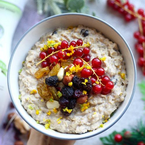 Christmas Pudding Porriage