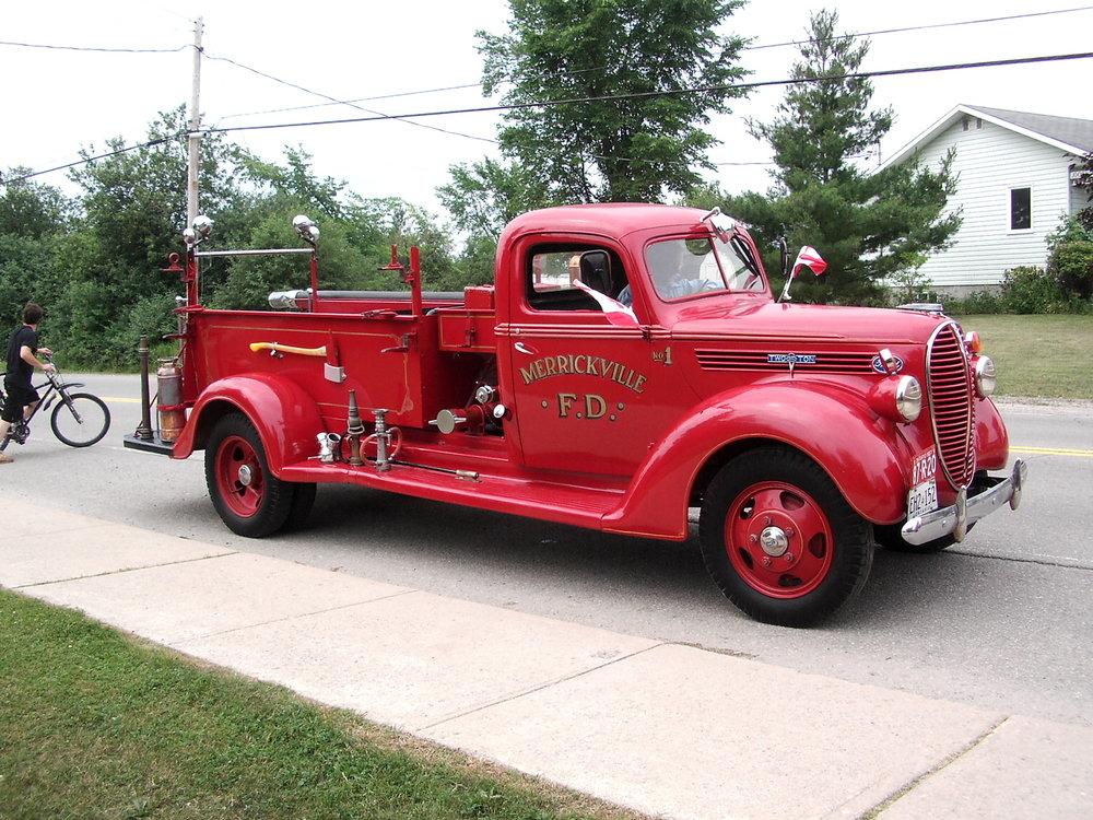 Feuerwehrauto Merrickville