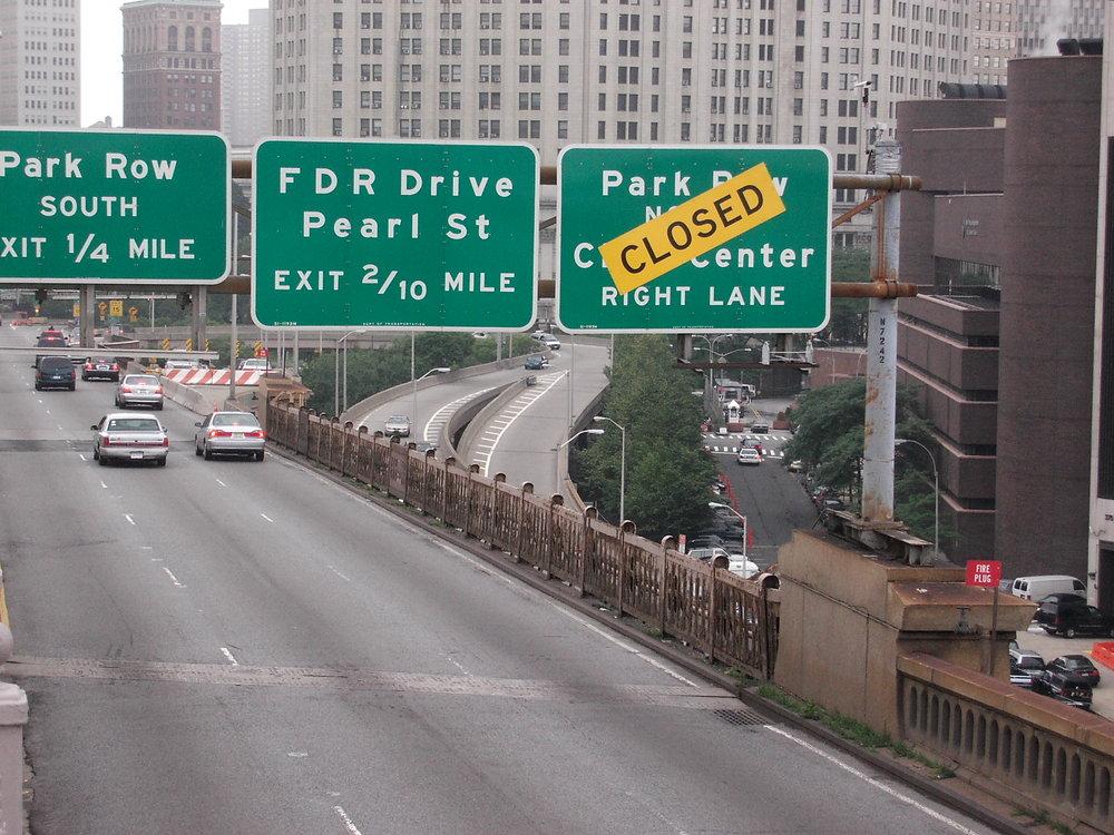 Manhattans Straßen mal leer erleben... auch ein Erlebnis!