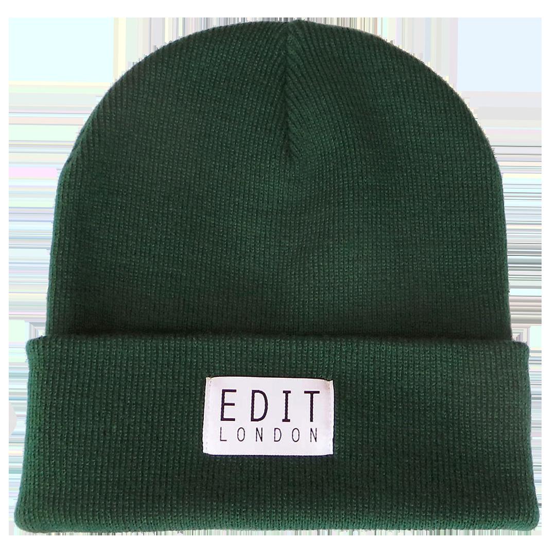 ec3f58aa Autumn Green Beanie — EDIT HATS - Shop
