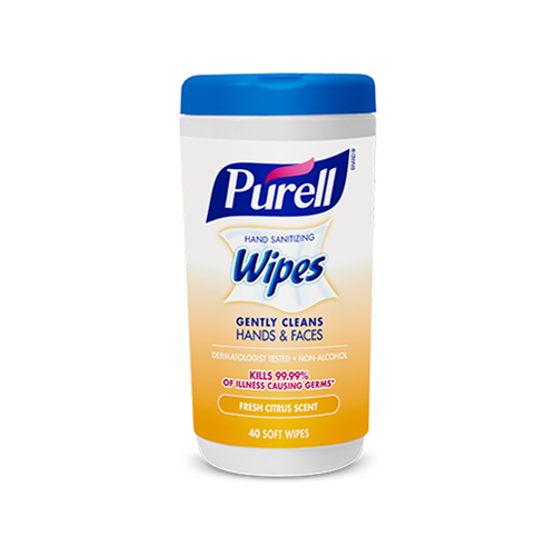 Fresh Citrus Scent Wipes 40 Soft Wipes