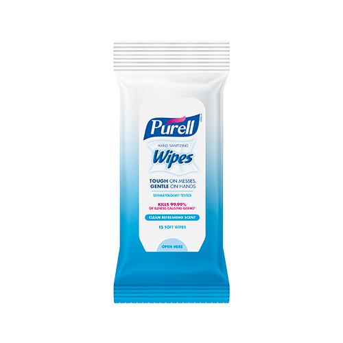Refreshing Sanitizing Wipes 15 Count