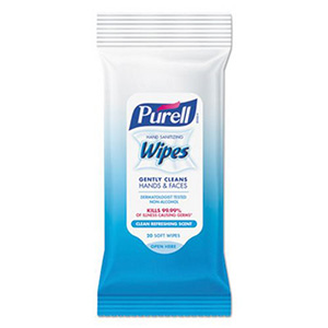 Hand Sanitizing Wipes Clean Refreshing Scent 20 Count