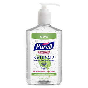 PURELL® Advanced Hand Sanitizer Naturals 12 fl oz