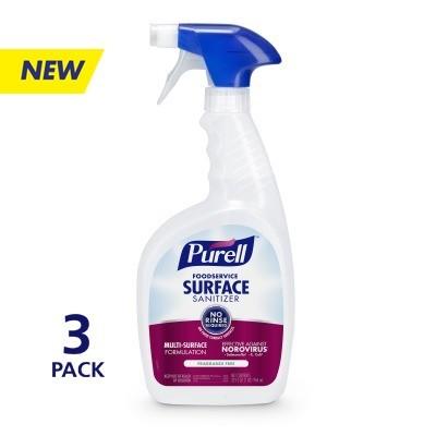 PURELL™ Foodservice Surface Sanitizer 32 fl oz Spray Bottle