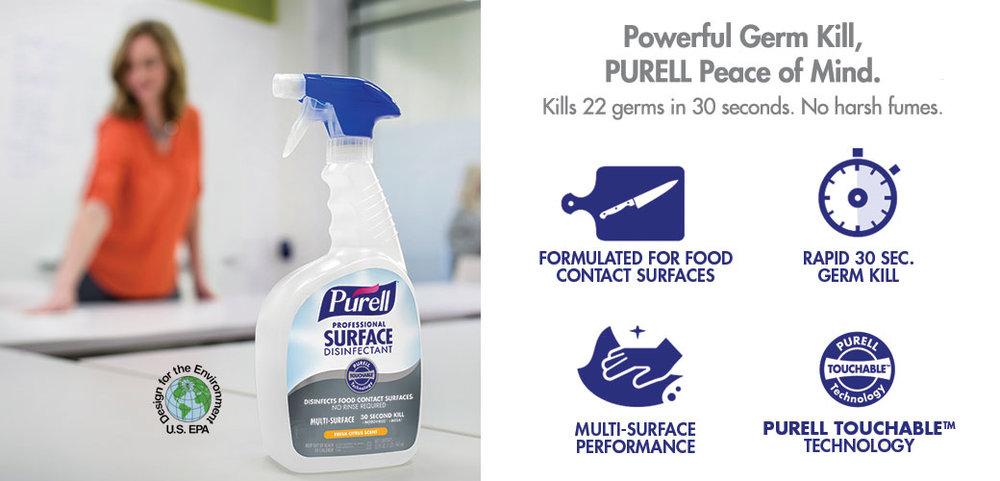 PURELL Surface Spray — PURELL
