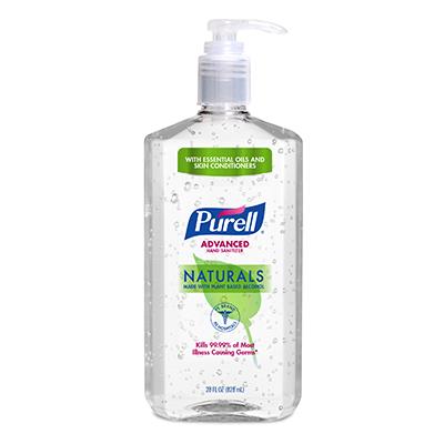 PURELL ®Advanced  Hand Sanitizer Naturals   28 fl oz Pump Bottle