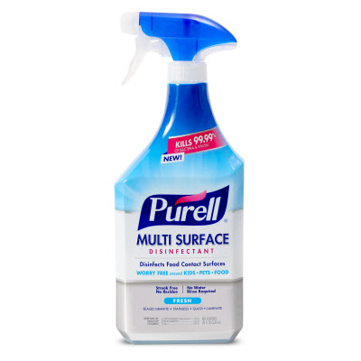 PURELL® Multi-Surface Disinfectant Fresh Scent  28 fl oz Spray Bottle with Trigger Sprayer