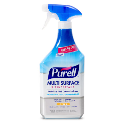 PURELL® Multi-Surface Disinfectant Citrus Scent  28 fl oz Spray Bottle with Trigger Sprayer