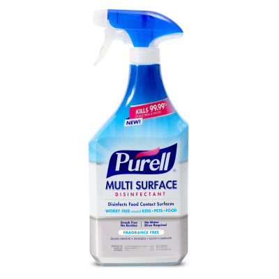 PURELL® Multi-Surface Disinfectant Fragrance Free  28 fl oz Spray Bottle with Trigger Sprayer