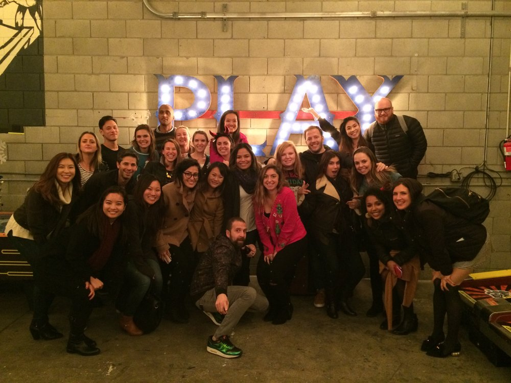 Ogilvy SF at our holiday party this December