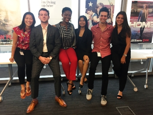 Shoutout to my intern team, Team D!Left to right: Leigh, Charlie, Denaé, me, Zach, and Alyssa!