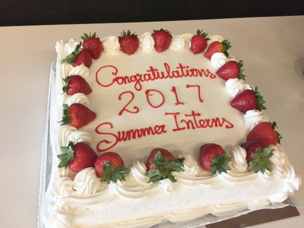 Farewell celebration cake!