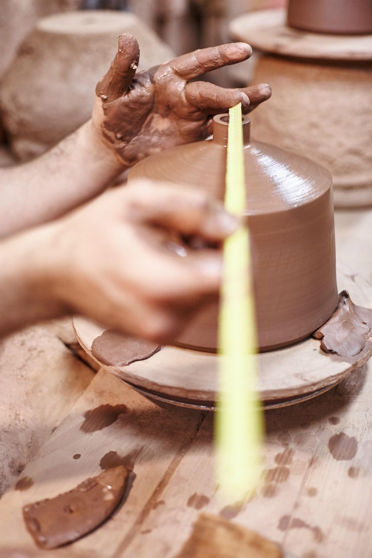handmade keramikk pott