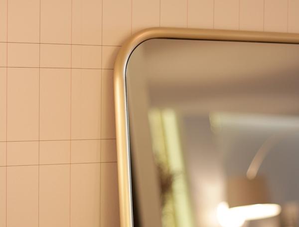 Brass mirror Omelette-ed