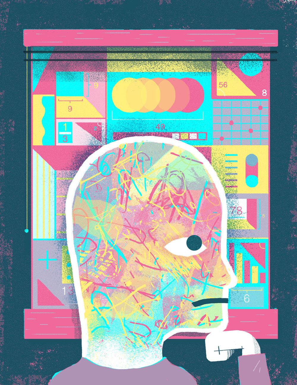 Philosophy For Kids digital collage, 2016 AD: Dushan Milic
