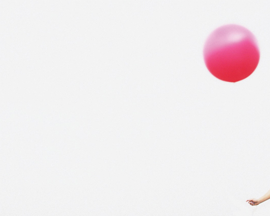 pink balloon by max wanger