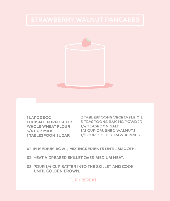 strawberry-walnut-pancakes