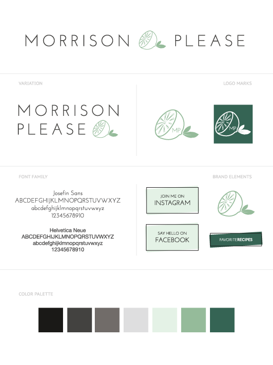 Morrison Please Style Guide by artsocial