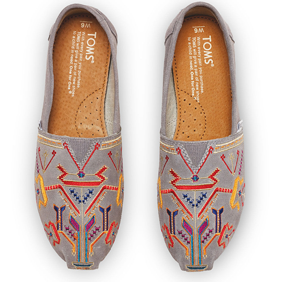 Toms Embroidered Classics