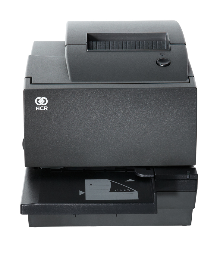 7167 Multifunction Printer - With intelligent design and operator-friendly features like Lean Receipt and advanced power management, the NCR RealPOS Multifunction Printer can increase your store's productivity and reduce your paper and power usage.
