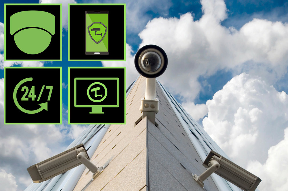 Security Systems. - State-of-the-art video surveillance systems that can be moinitored virtually anywhere.