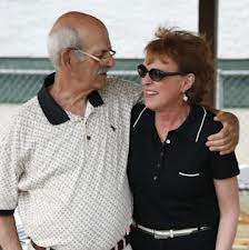 Uncle Russell and Aunt Joyce at the dedication of the  Russ Monbleau Youth Sports Complex.